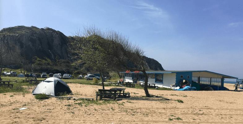 Green park kamping